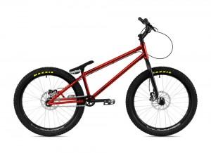 """Bike 24"""" Inspired Arcade Pro - rot Sram DB5 disc - hydraulisch"""