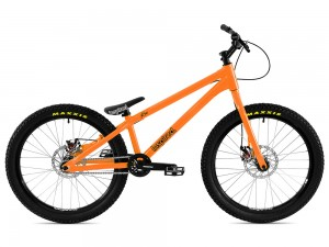"Bike 24"" Inspired Flow Plus - orange Avid BB5 disc - mechanisch"
