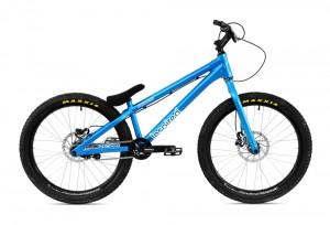 """Bike 24"""" Inspired Fourplay Pro - blau Sram DB5 disc - hydraulisch"""