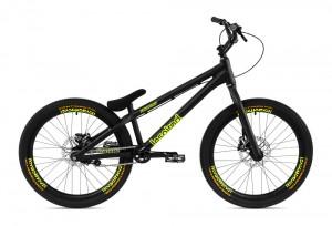 """Bike 24"""" Inspired Fourplay Team - schwarz"""