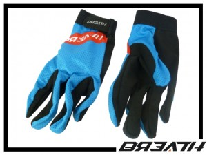 Handschuhe Breath blau/rot