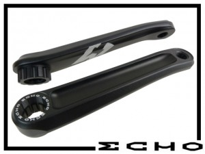 Kurbelpaar Echo TR - splined 160mm