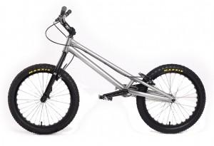 "Trial Bike 20"" Echo Kid - silber"