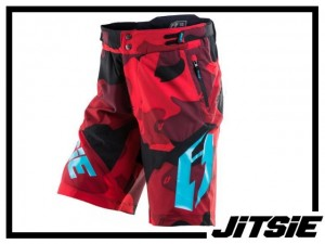 Short Jitsie B3 Squad - 2017 - red/teal Kids XS