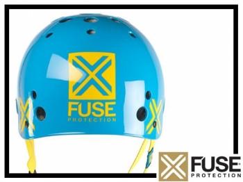 Helm Fuse Icon - cyan XL (61-62cm)