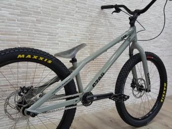 "Bike 24"" Czar Ion - grau Avid BB5 disc - mechanisch"