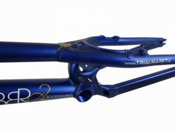 """Rahmen 26"""" Rockman Gabbro 2 - blau"""