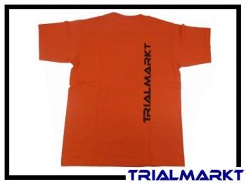 T-Shirt Trialmarkt Kids - Sunset Orange 9/11 Jahre