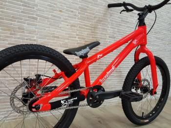 "Angebot Bike 20"" Inspired Flow Kids - neonrot"