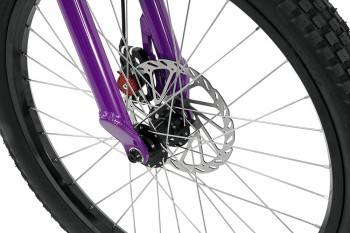 "Bike 24"" Inspired Flow Plus - lila Hope Tech 3 Trial disc - hydraulisch"