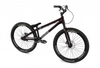 """Bike 26"""" Inspired Hex Team - dunkelrot metallic Magura MT7 HC3 disc - hydraulisch"""