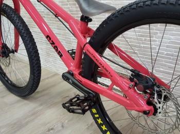 """Bike 24"""" Czar Ion - hellrot Avid BB5 disc - mechanisch"""