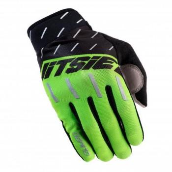Handschuhe Jitsie Domino - grün - XL
