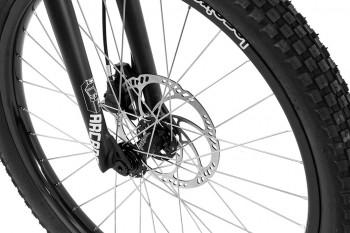 """Bike 24"""" Inspired Arcade Pro - dunkelchrom Magura MT4 disc - hydraulisch"""