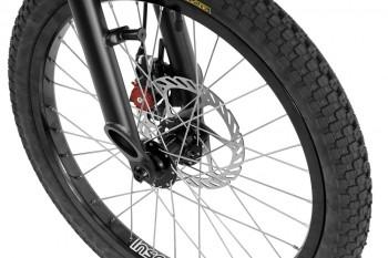 "Bike 20"" Inspired Flow Kids - schwarz matt"