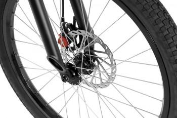 """Bike 24"""" Inspired Flow - schwarz matt Avid BB5 disc - mechanisch"""