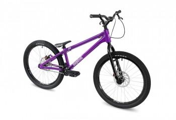 """Bike 24"""" Inspired Flow - lila Magura MT4 disc - hydraulisch"""