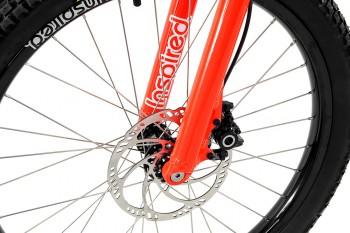 """Bike 24"""" Inspired Fourplay Pro - neonrot Magura MT4 disc - hydraulisch"""