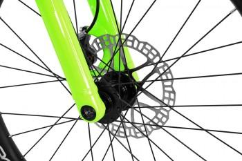 "Bike 24"" Inspired Fourplay Team - neongrün Hope Tech 3 Trial disc - hydraulisch"