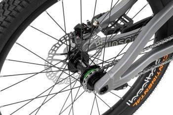 "Bike 24"" Inspired Fourplay Team - mattgrau Hope Tech 3 Trial disc - hydraulisch"