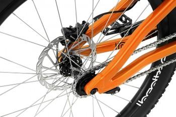 """Bike 26"""" Inspired Hex Pro - orange Magura MT7 HC3 disc - hydraulisch"""