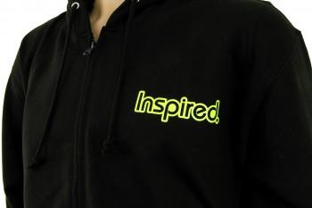 Inspired Hoody Zip Sweatshirt - schwarz S