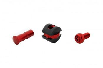 Trialtech Schraubenkit für Bremsgriff rot