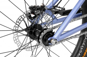 "Bike 24"" Inspired Arcade Team - blau matt Hope Tech 3 Trial disc - hydraulisch"