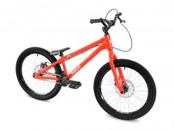 "Bike 22"" Inspired Flow Kids - neonrot Avid BB5 disc - mechanisch"