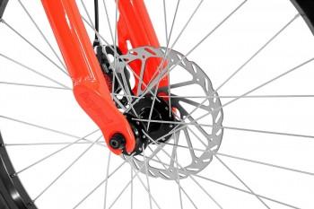 "Bike 24"" Inspired Flow Plus - neonrot Avid BB5 disc - mechanisch"
