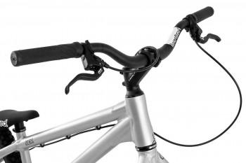 """Bike 26"""" Inspired Hex Pro - silber matt Magura MT4 disc - hydraulisch"""