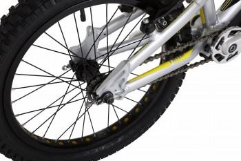 "Trial Bike 18"" Onza Mini Master - silber"