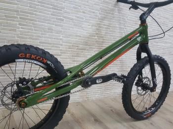 "Trial Bike 20"" Rockman Ash KID - grün"