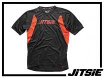 Jersey Jitsie Airtime kurzarm - schwarz/rot - XL