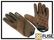 Handschuhe Fuse Prince - braun - Gr. M