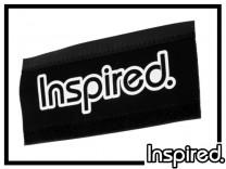 Kettenstrebenschutz Inspired XL Logo - weiß