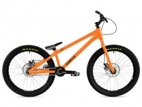 """Bike 24"""" Inspired Flow Plus - orange Magura MT4 disc - hydraulisch"""