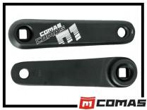 Kurbelpaar Comas 4-Kant 130mm