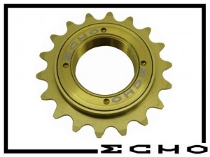 Freilaufritzel Echo SL Titan (108 clicks) 18 Z.