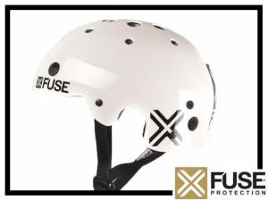Helm Fuse Icon - weiß