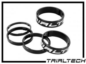 Singlespeed Spacerkit Trialtech - schwarz