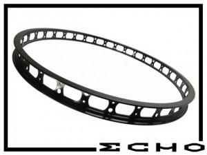 "HR-Felge 24"" Echo SL 45mm (32 Loch) - schwarz"