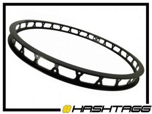 "VR-Felge 20"" Hashtagg 32mm (28 Loch) - schwarz"