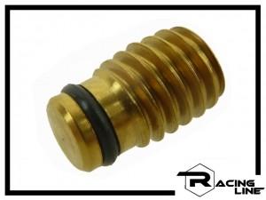 Racing Line Verschluss-Schraube M6 Titan mit Dichtung - gold