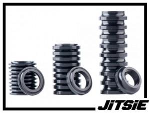 Naben-Spacer Jitsie Aluminium (Stück) - schwarz 3mm