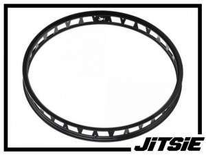 "HR-Felge 24"" Jitsie Single Wall 48mm (32 Loch) - schwarz"