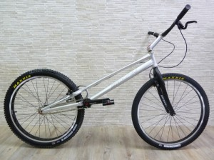 "Trial Bike 26"" Breath Yes HS - silber"