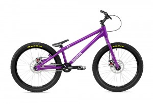 "Bike 24"" Inspired Flow Plus - lila Magura MT4 disc - hydraulisch"