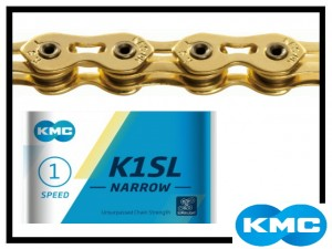 Kette KMC K1SL - narrow - gold