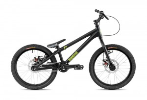 "Bike 20"" Inspired Flow Kids - schwarz matt"